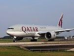 A7-BFE Qatar Airways Cargo Boeing 777-FDZ - cn 39644, 25august2013 pic-005.JPG