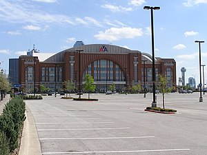 Das American Airlines Center in Dallas