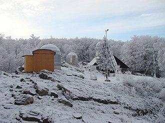 Modra Observatory - Image: AGO Modra winter
