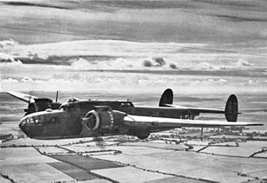 No. 295 Squadron RAF - An example of the Armstrong Whitworth Albemarle as used by No 295 Sqn.