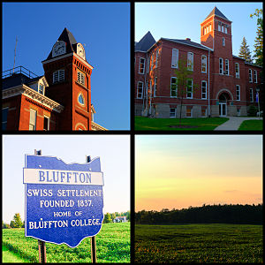 Bluffton, Ohio - A Collage of Bluffton, Ohio