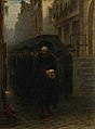 A Jewish Funeral by Hein Burgers Rijksmuseum Amsterdam SK-A-1805.jpg