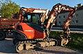A Kubota KX080-4 excavator.jpg