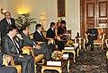 A Parliamentary delegation from Hungary led by the Speaker of the Hungarian National Assembly Dr. Laszlo Kover meeting the President, Shri Pranab Mukherjee, at Rashtrapati Bhavan, in New Delhi on November 29, 2012.jpg
