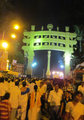 A Sanchi gate and Ashokan piller at Chaity Bhoomi.png
