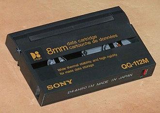 Data8 - a Sony 8mm Data Cartridge