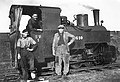 A Vierzy, création des voies ferrées de largeur 0,60 mètre où les locomotives 030T Decauville, tirent des wagons de betteraves vers l'usine et repartent avec des pulpes.jpg