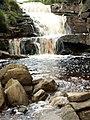 A Waterfall Crowden Little Brook - geograph.org.uk - 469213.jpg
