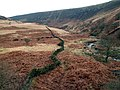 A dry stone wall along side Torside Clough - geograph.org.uk - 643169.jpg