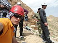 A group of mountain climbers in Mirabad - Nishapur 01.JPG