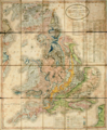 A new Geological map of England and Wales by William Smith (1820).png