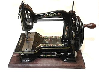 White Sewing Machine Company - A rare White Gem (USA) from about 1887