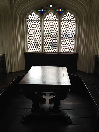 Chetham's Library - Table in the Reading Room