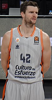 Aaron Doornekamp Canadian professional basketball player from Odessa, Ontario