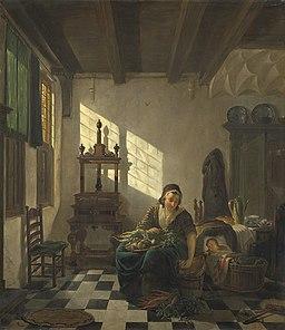 Abraham van Strij - De huisvrouw