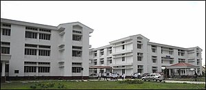 Tezpur University - An academic building