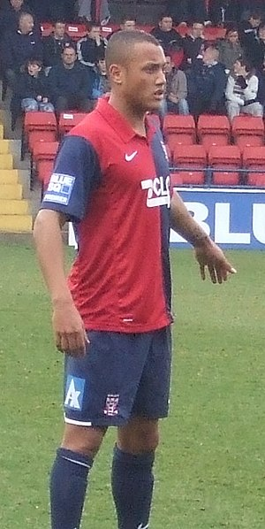 Adam Smith (footballer, born February 1985) - Smith playing for York City in 2009