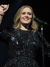 504c955547e883 Adele performing at Adele Live 2016. Adele performed