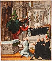Apparition de la Sainte Vierge a S. Ildephonse