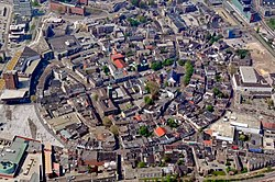 Aerial view of Enschede