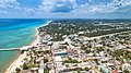 Aerial of Playa del Carmen, Mexico (28708057347).jpg