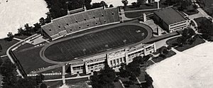 Robertson Stadium - 1950 view of Robertson Stadium