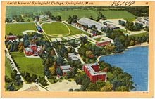 Springfield College Tuition >> Springfield College Massachusetts Wikipedia