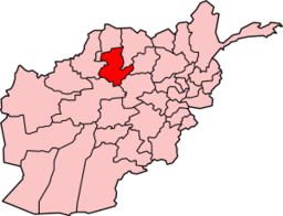 Map of Afghanistan with Sar-e Pol highlighted
