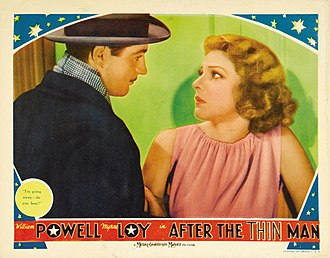 Alan Marshal (actor) - Lobby card for After the Thin Man (1936)