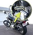 Aftermarket Jockey Shifter installed on a 2008 Harley Davidson motorcycle chopper.jpg