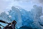 Afternoon zodiak excursion around ice strewn clerva cove. (25881365432).jpg