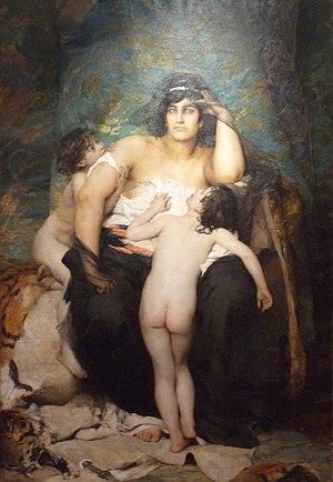 Aimé Morot - Image: Aimé Nicolas Morot Médée Musée barrois