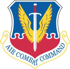Emblem of Air Combat Command of the United Sta...