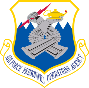Air Force Personnel Operations Agency - Air Force Personnel Operations Agency Shield