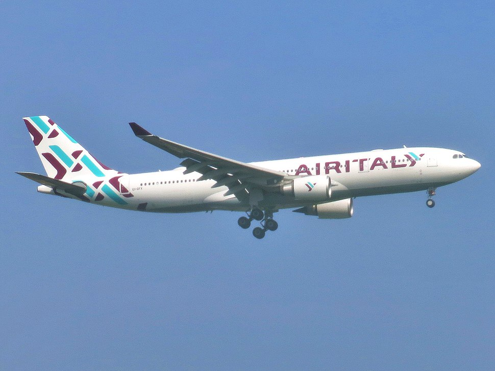 Air Italy (2018) Airbus A330-202 EI-GFX approaching JFK Airport