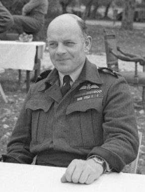 Air Vice-Marshal Dickson near Venafro, Italy (cropped)