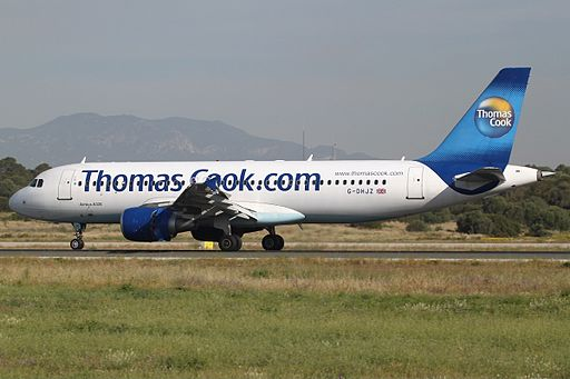 Airbus A320-214 Thomas Cook Airlines G-DHJZ, PMI Palma de Mallorca, Balearic Islands, Spain PP1337281497