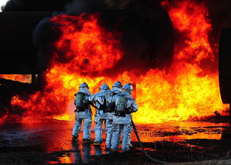 File:Airport-firefighters-drill.jpg