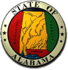 State seal of Alabama
