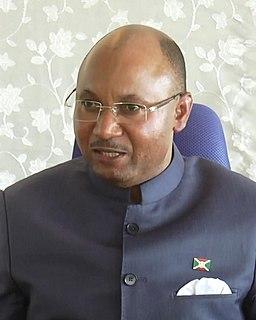 Alain-Guillaume Bunyoni Burundian politician