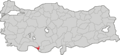 Alanya Turkey district locater.png