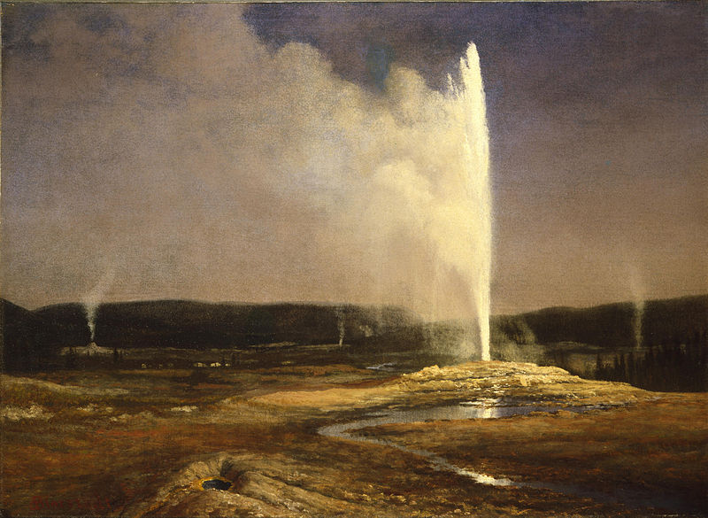 File:Albert Bierstadt - Geysers in Yellowstone (c.1881).jpg