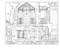 Albert Van Voorhis House, Maple and Franklin Avenues, Wyckoff, Bergen County, NJ HABS NJ,2-WYCK,1- (sheet 9 of 18).png