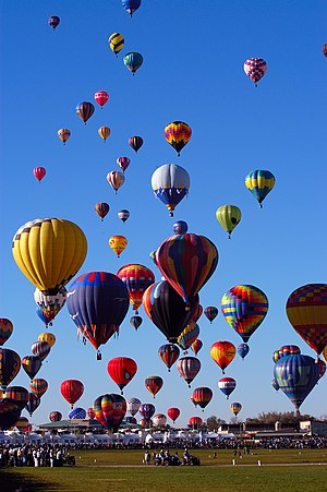 Balloon Fiesta of Albuquerque, New Mexico, Uni...