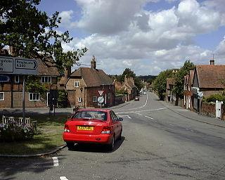 Aldermaston village in the United Kingdom