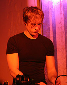 Alec Empire DJing at Throbbing Gristle's 2005–2006 New Year's Eve party