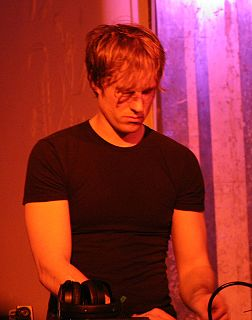 Alec Empire German experimental electronic musician
