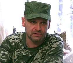 Aleksey Mozgovoy discusses military matters, Aug 7, 2014.jpg