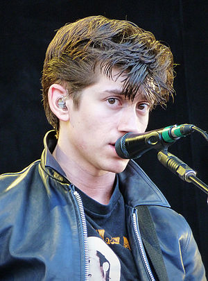 Alex Turner (musician) - Turner performing in San Francisco in 2011