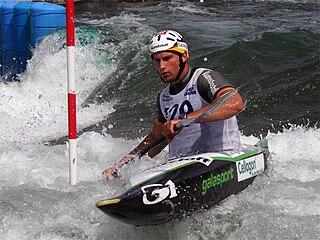 Alexander Grimm Olympic canoeist